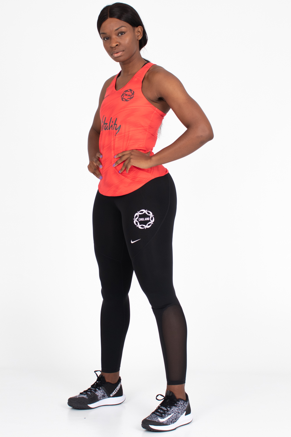 England Netball Womens Training Tank