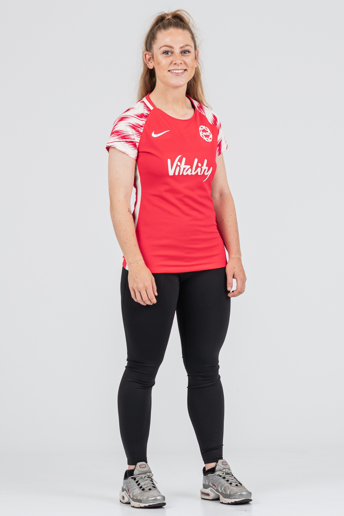 Womens England Netball Women's Warm Up Tee
