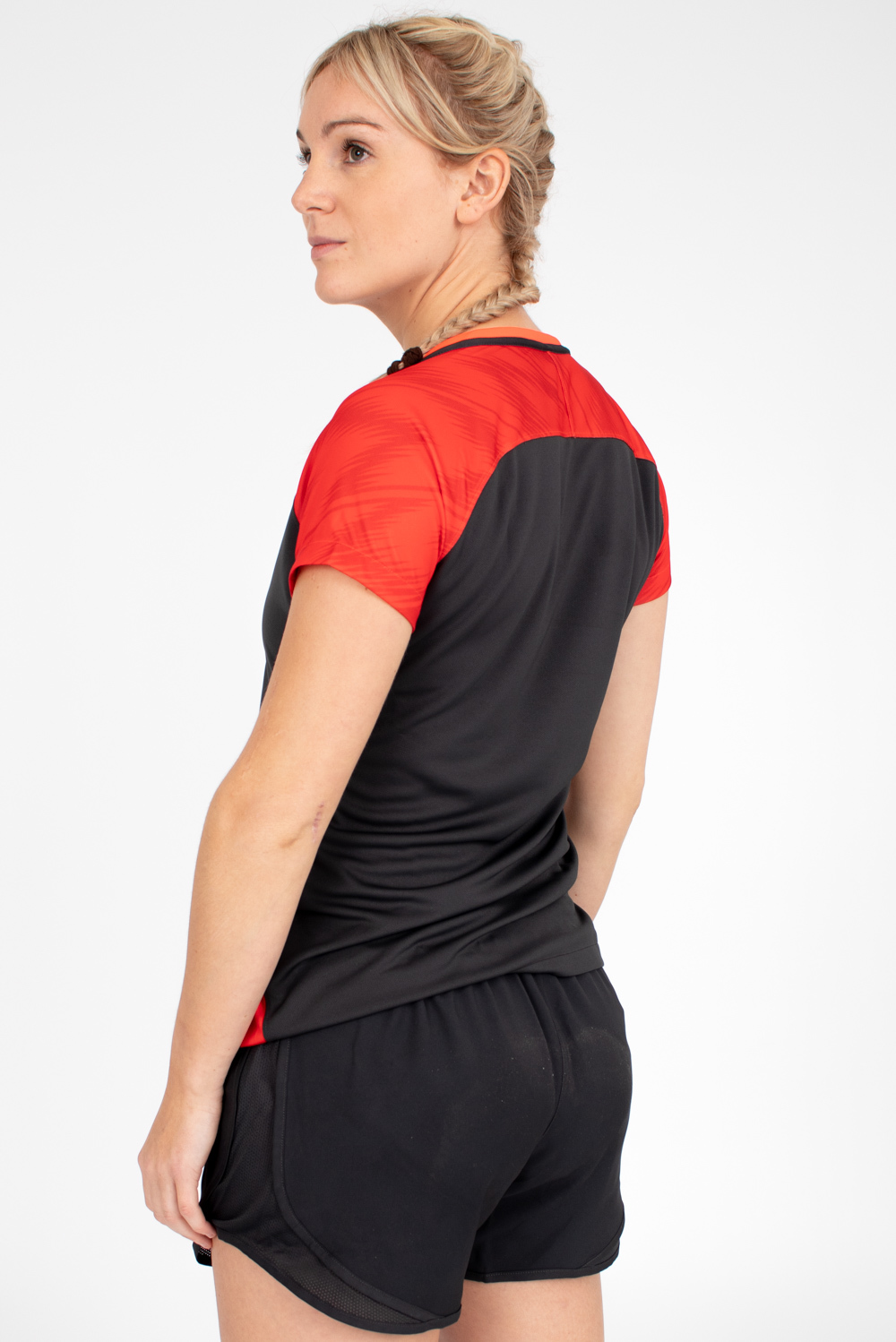Womens England Netball Youth Tempo Woven Short