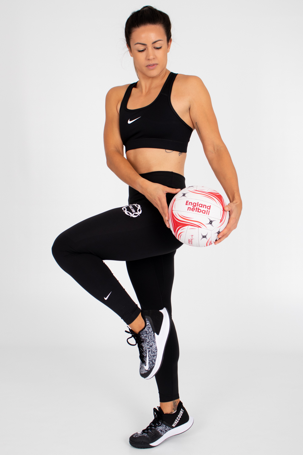 Womens England Netball Training Tights