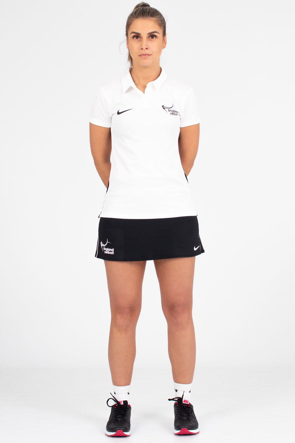 EN-Kitlocker Womens Team White Dri-fit Skort