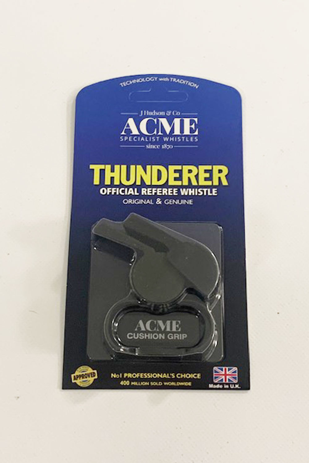 Acme 477/58.5 Matt Black Finger Whistle