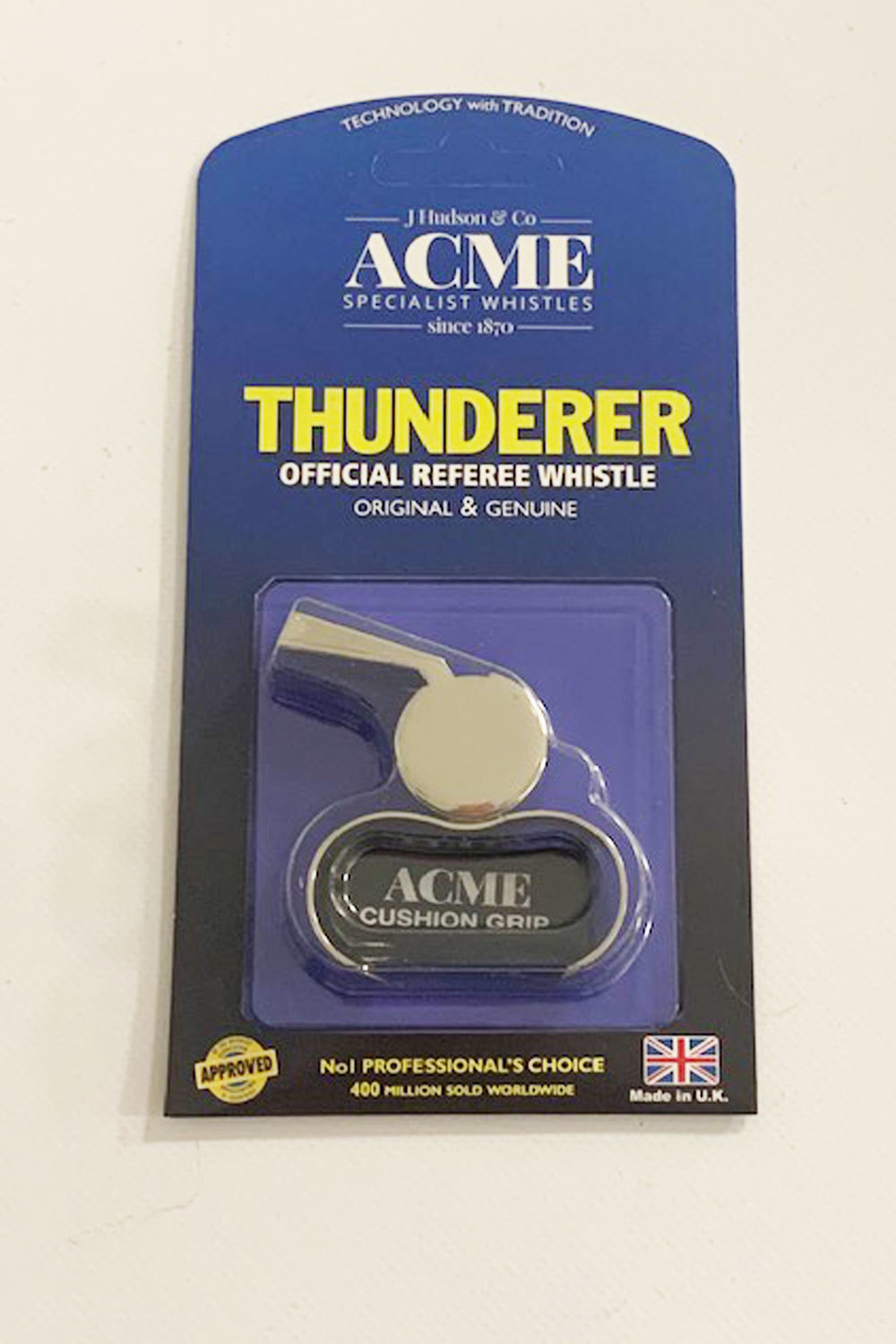 Acme 477/59.5 Matt Black Finger Whistle