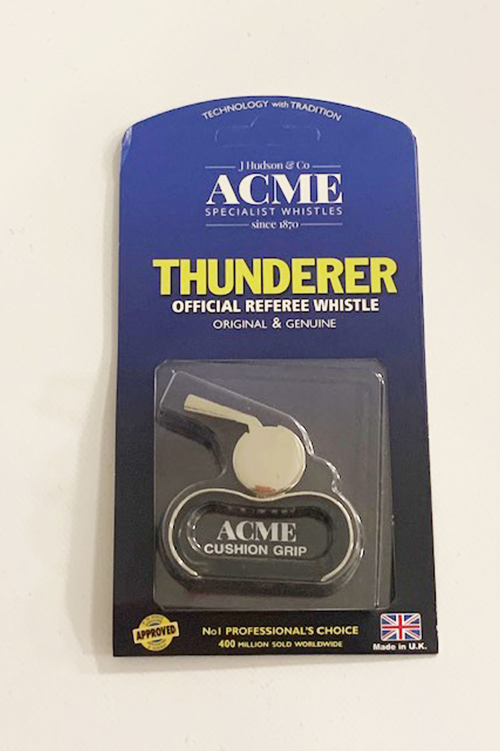 Acme 477/60.5 Matt Black Finger Whistle