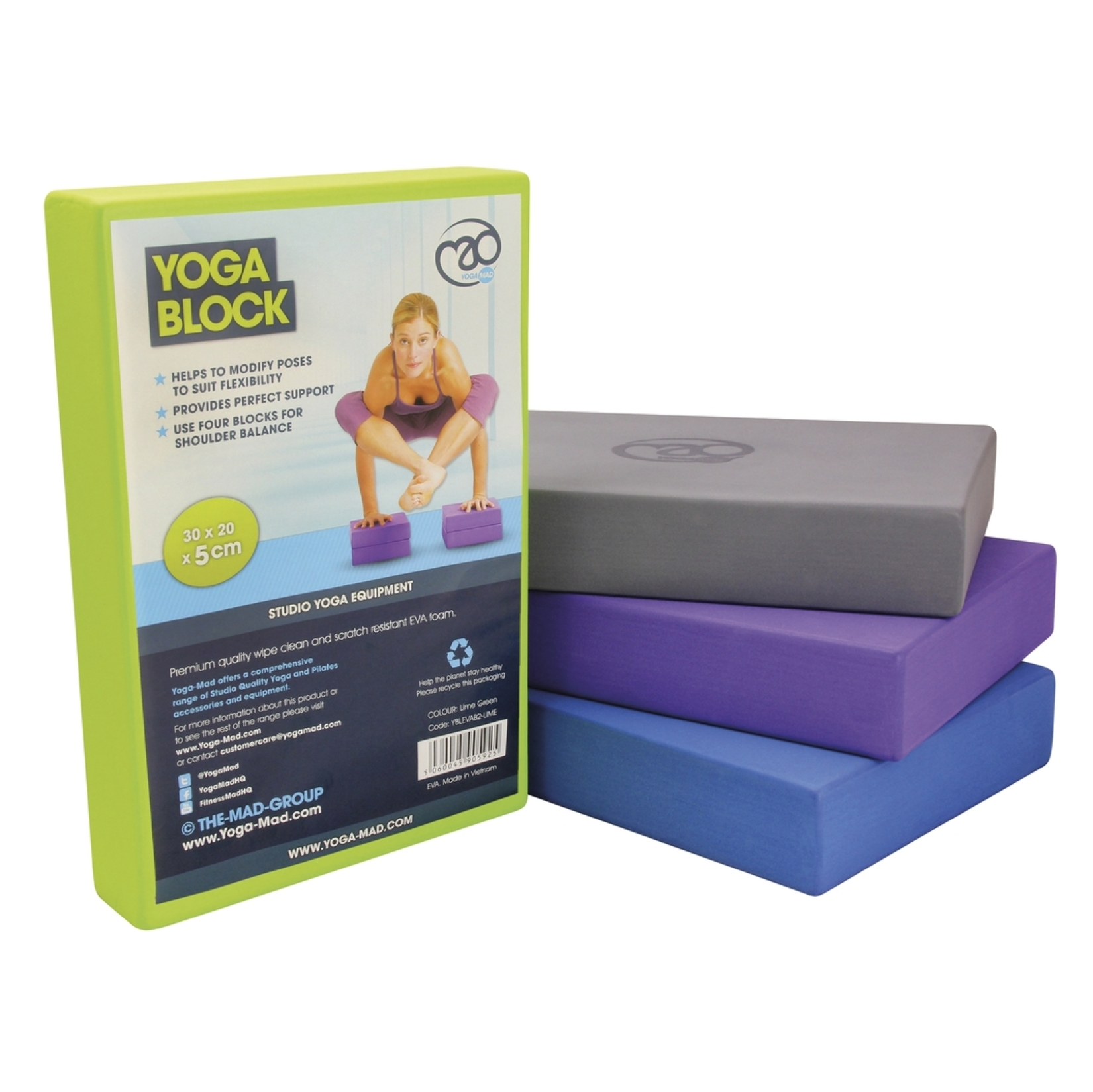 Fitness Mad Full Yoga Block