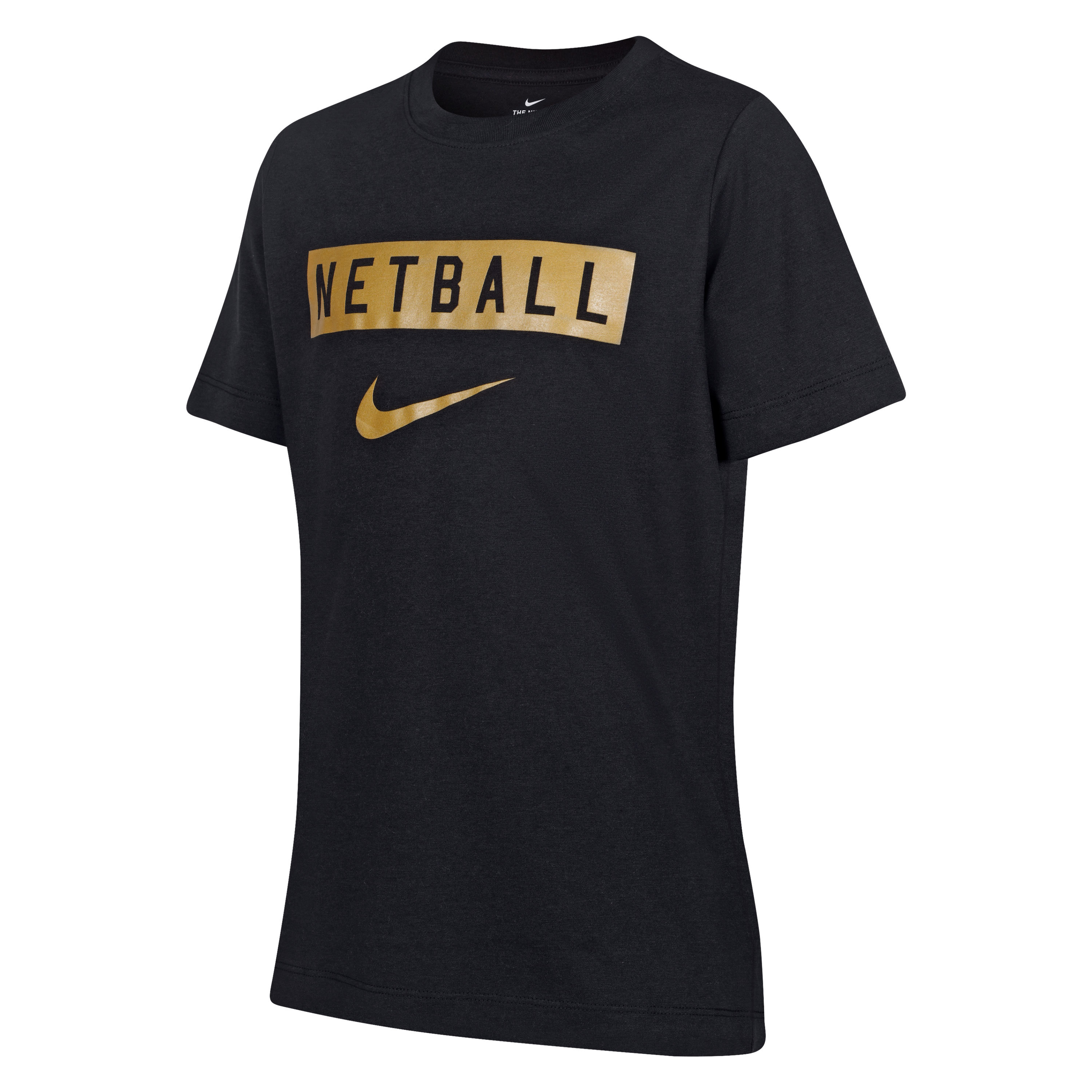 England Netball Youth Nike Swoosh Supporters Tee