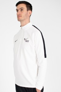 Team White Nike Academy 18 Midlayer