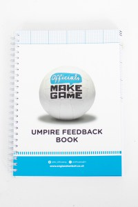Umpire Feedback Book With Rules