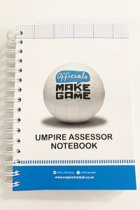 Umpire Assessor Notebook With 2020 New Rules