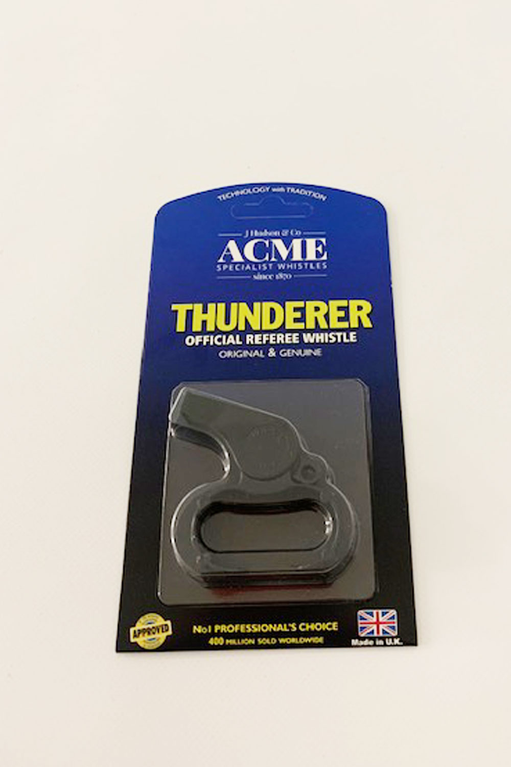 Acme 477/660 Black Plastic Finger Whistle